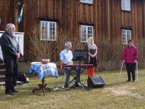 2016.05.05 Kent Ivarsson MHF, Martin, Karolinn och Stina Eliasson Hembygdsföreningen.JPG