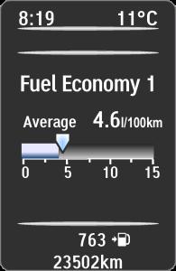 Bränsleförbrukning